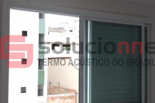 Janela Acústica de Correr Sobreposta em Belo Horizonte