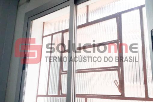 Janela Acústica de Correr Sobreposta no Bairro Boa Vista em Belo Horizonte