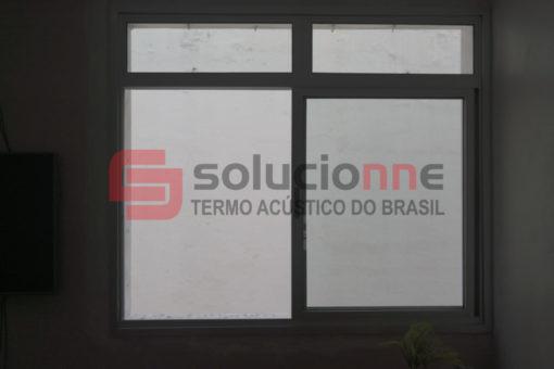 Janela Acústica de Correr Sobreposta no Bairro Funcionários em Belo Horizonte
