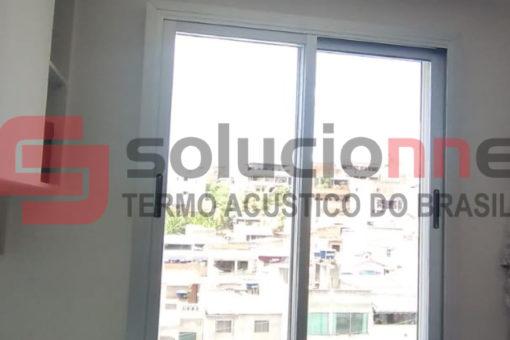 Janela Acústica de Correr Sobreposta no Bairro Justinópolis em Ribeirão das Neves