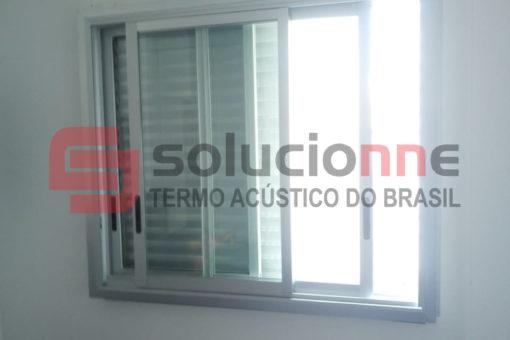 Janela Acústica de Correr Sobreposta no Bairro Palmares em Belo Horizonte