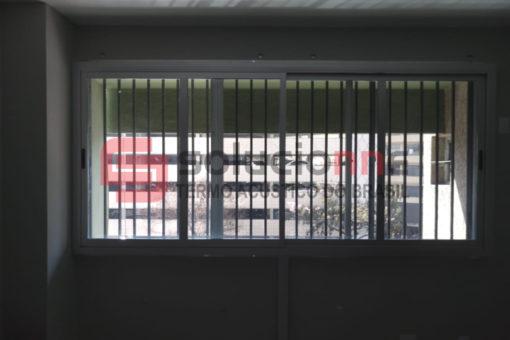 Janela Acústica em Alumínio de Correr 312cm x 140cm
