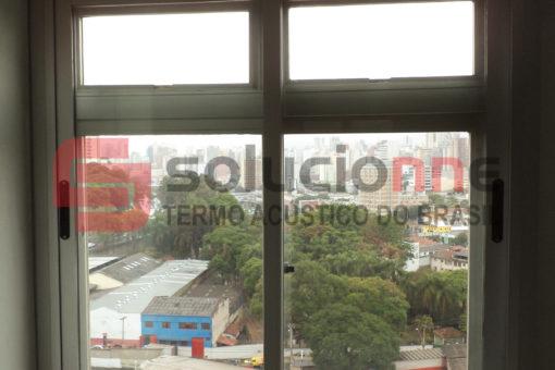 Janela Acústica em Alumínio de Correr em Belo Horizonte