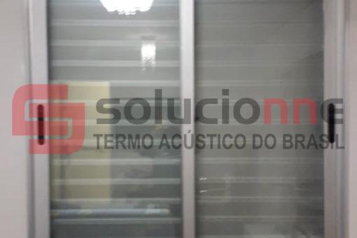 Janela Acústica Sobreposta de Correr em Ouro Preto