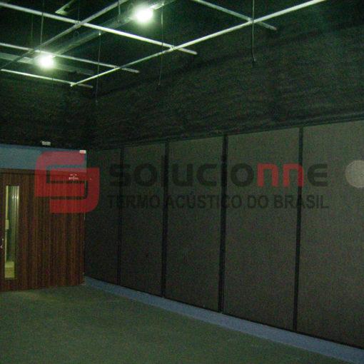 Jateamento Térmico, Fechamento Acústico com Drywall,Painéis de Absorção Sonora, Forro Acústico, Visor Acústico no Jornal Balcão