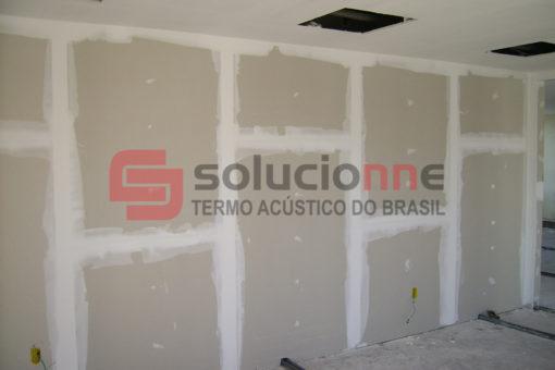 Parede Drywall Acústica 125/75/60 2ST+2ST no Codemig