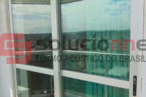Porta Acústica de Correr no Bairro Castelo em Belo Horizonte