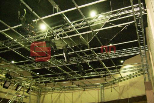 Porta Acústica, Jateamento Termo Acúsctico e Estruturas de Madeira na Rede Super
