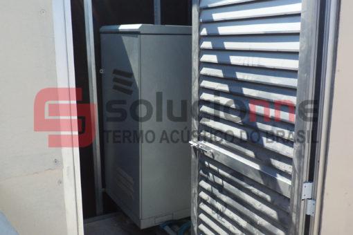 Projeto Acústico e Execução de Isolamento Acústico de Torre de Telecomunicação